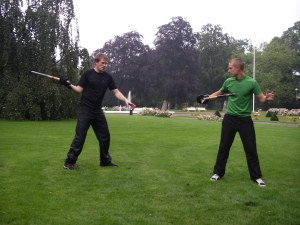 Erik och Carl - Teknisk sparring